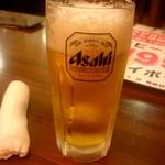 和風・中華居酒屋 龍馬 - 生ビール:195円税別