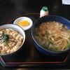 Teuchiudonaoi - 料理写真:炊き込みご飯の定食全景です