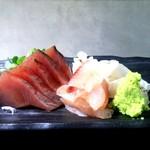 和食のすゝめ - 「造り盛り合わせ」650円