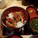 自家製麺 竜葵 - ひつまぶし(390円)