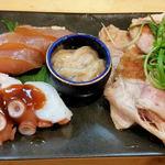 大阪麺哲 - 盛り合わせ
