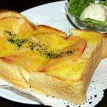 サロンド・冨山房ティールームFolio - ハム&チーズ・トースト