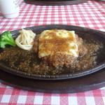 レストラン 祭太鼓 - チーズハンバーグ(200g)