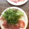 sync - 料理写真:生ハム&サラミサラダ