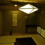 懐石 辻留 - 茶室の装いの6畳部屋