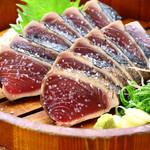 明神丸 - 料理写真:鰹の塩たたき