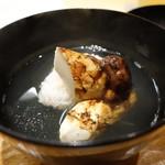 吉い - ☆煮物椀…鱧&松茸(#^.^#)☆