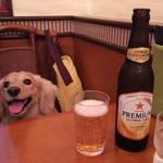 蓮香園 - 2016.10.02撮影 ハッピーとノンアルコールビール