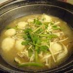 駒ヶ岳温泉 - 山の芋鍋