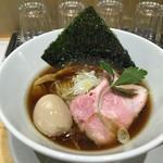 本町製麺所 阿倍野卸売工場 中華そば工房 - 名物中華そば(650円)