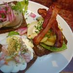 Streckers Pub & Brasserie - 料理写真:スモーブロー3種
