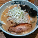 Ajinotokeidai - 熟成炙り味噌ラーメン(2016.9期間限定メニュー)