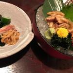 三代目網元 魚鮮水産 - ホヤ酢・ホヤ刺し