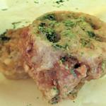 惣菜かざま - レンコンはさみ揚げ