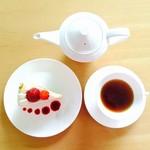 NEZUCAFE - NEZUブレンド紅茶&イチゴショートケーキセット
