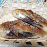パン ブレッシング - 料理写真:クロワッサンあんパン