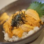 シロクマ食堂 - ウニ丼