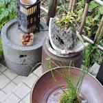 花尋庵 - 玄関脇