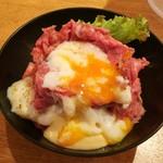 56890817 - ローストビーフ丼M850円