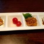 中国鮮家 響鈴 - 料理写真:前菜