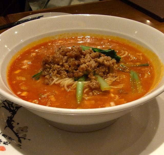 中国料理 仙ノ孫 - タンタン麺(2016.9)