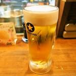 桃谷温酒場 - 生ビール