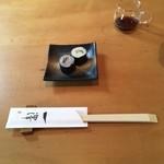 手打蕎麦 一澤 - 蕎麦寿司
