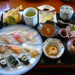 寿し味処 和多栄 - 和多栄寿司定食