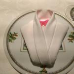 リストランティーノ ルベロ - パスタのネクタイがかわいい