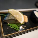貴田乃瀬 - お通しの煮鯖