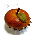 ホーム メイド ベーカリー シナモン - 料理写真:リンゴの形をしたパンです