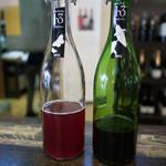 ヒトミワイナリー - 濁り発泡ワインも美味い