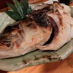 魚金 - わらさのカマ焼き