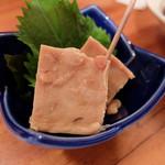 魚金 - 豆腐の味噌漬け