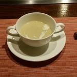 TEPPAN DINING KAMIYA - 栗のポタージュ