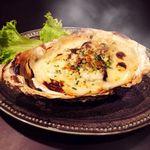 牡蠣のホワイトソースグラタン