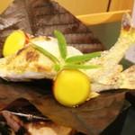 伊万栄 - 焼き物 鮎 薩摩芋