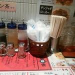 陳麻家 - 【2016.10.3(月)】テーブルにある調味料