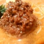 陳麻家 - 【2016.10.3(月)】担々麺(並盛・130g)710円の挽き肉