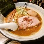 麺屋 利休 - 味玉醤油らぁめん!
