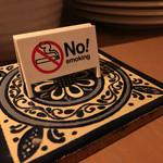 Dining & Gallery Rosa - 店内禁煙です