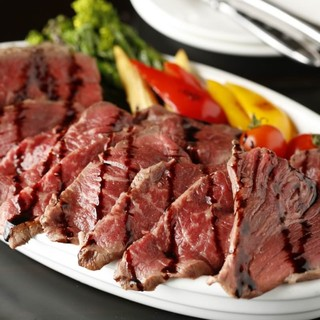 熟成肉1ポンド盛り!信州野菜と和牛チーズフォンデュ!!