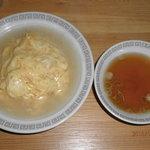 すえちゃんラーメン - 他店では、見ない関東風のあっさり味です。