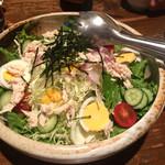 八鶏飯蔵 - 料理写真:八鶏サラダ