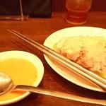 木蘭 - 蒸し鶏
