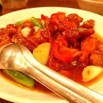 木蘭 - 酢豚
