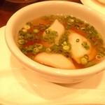 木蘭 - スープ水餃子