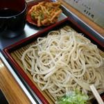 直売所 うどん店 みはらし - 天ぷら付き盛り蕎麦