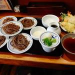 花水木 - 天皿そば1080円(税込)