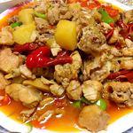 ウイグル料理EPENDI - 鶏肉とジャガイモの辛口炒め